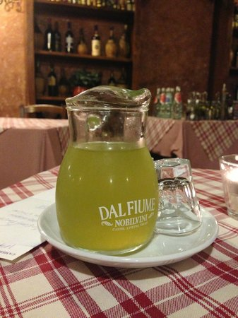 Nuovo Ranch: limoncello after dinner