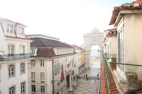 Lisbon RiverView Hostel: view