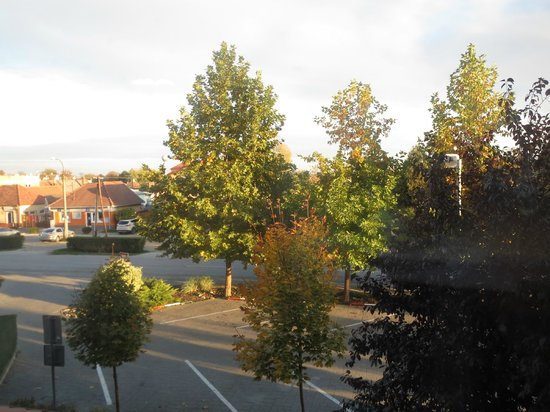 Trnava Region, Slowakei: View from my room