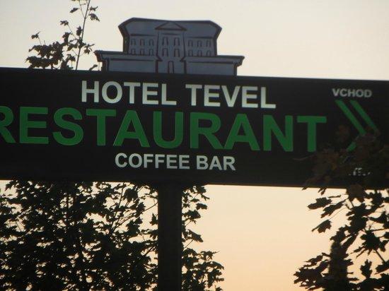 Trnava Region, Slowakei: The welcoming sign
