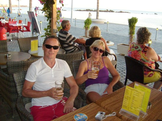 Apollonia Holiday Apartments: Harbour Bar
