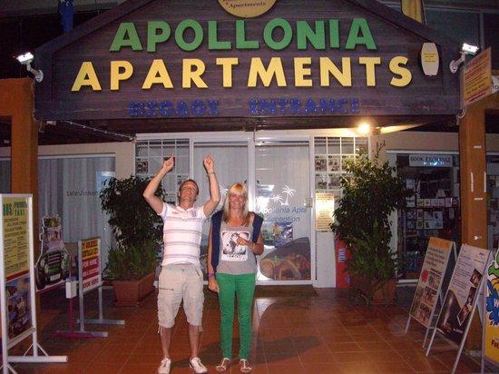 Apollonia Holiday Apartments: Main Entrance