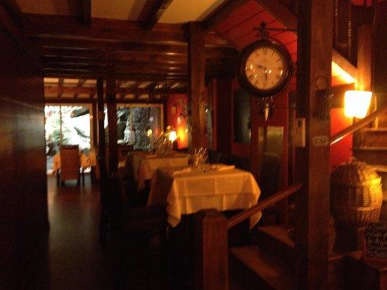 O Piment Rouge : Sala Interna
