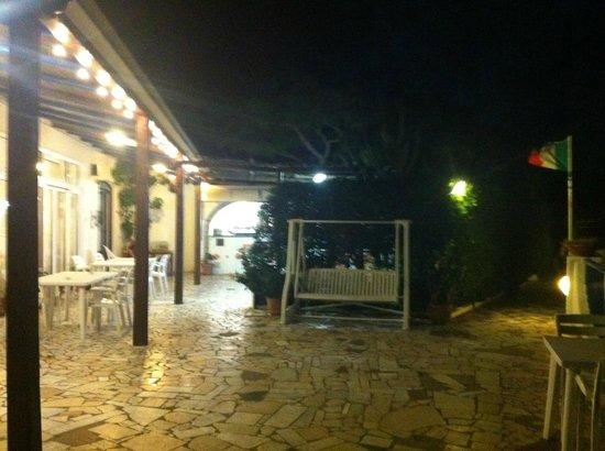 Hotel Villa Maria: Il terrazzo