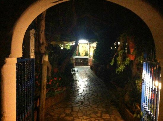 Hotel Villa Maria: L'ingresso
