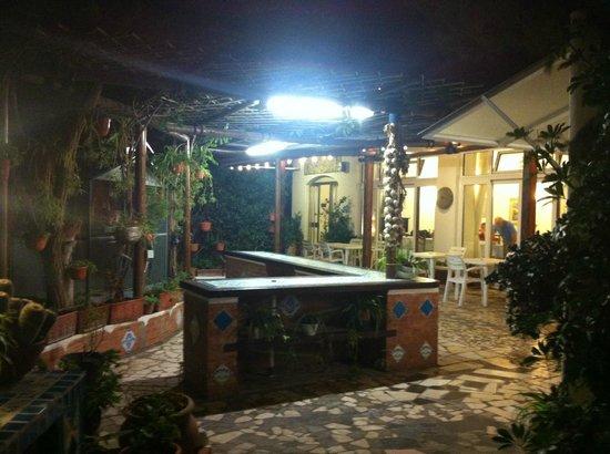 Hotel Villa Maria: La griglia