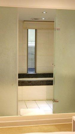 ECFA Hotel Wan Nian : Spacious bathroom but don't seems clean