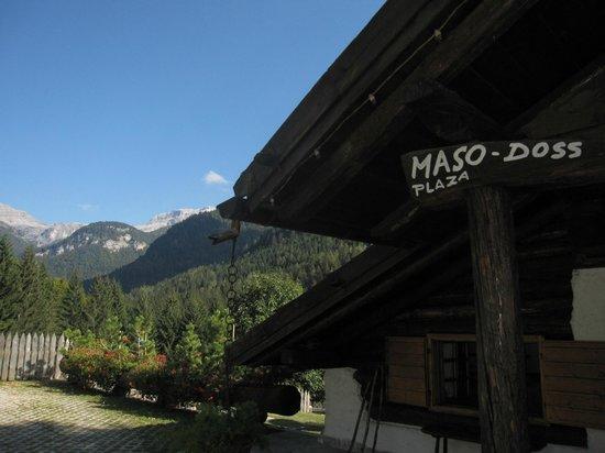 Chalet Maso Doss: Vista Dolomiti di Brenta