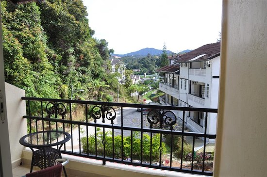 Arundina Cameron Highlands: view from balcony