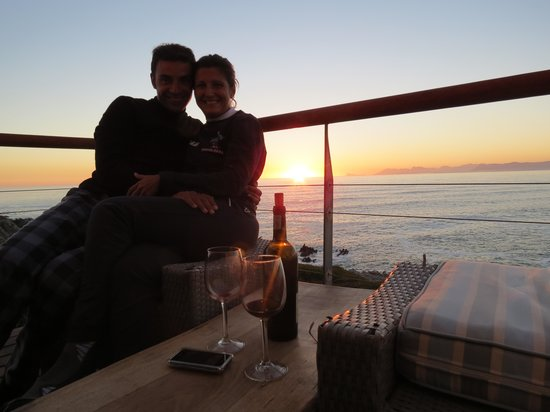 Cliff Lodge: aperitivo al tramonto