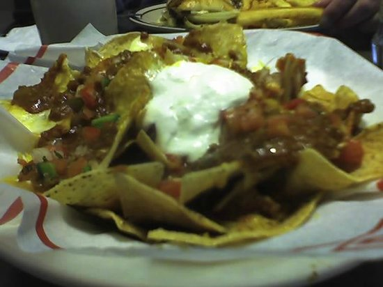 Denny's: Half order of Nachos