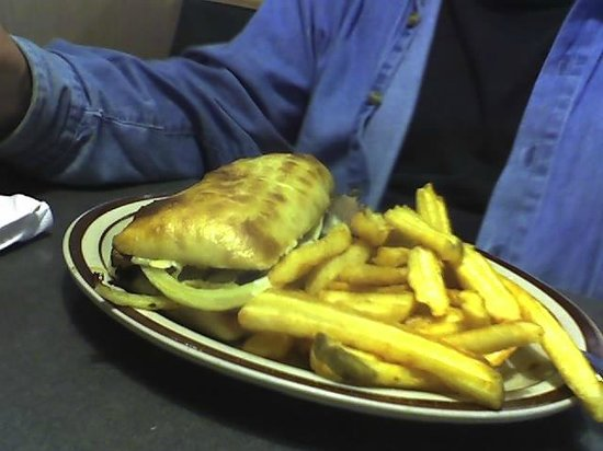 Denny's: Prime Beef Philly Cheese steak