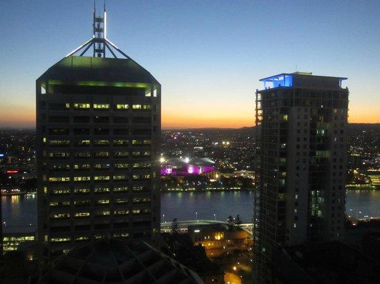 Oaks Festival Towers: View of Brisbane river