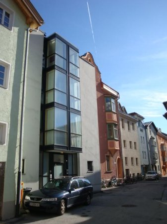 Hotel Gasthof Engl: New Hotel Building - street view