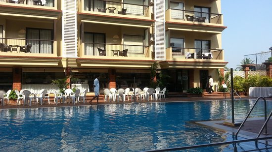 Deltin Suites: View from the pool