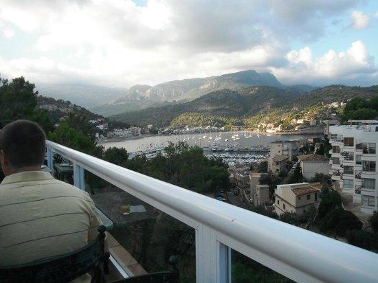 SENTIDO Porto Soller : View from breakfast terrace.