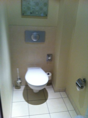 Hotel Lyskirchen : The seperate toilet