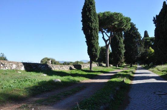 Parco Regionale dell'Appia Antica: Аппиева дорога
