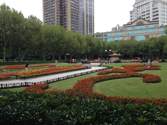 Flowers in Fuxing Park