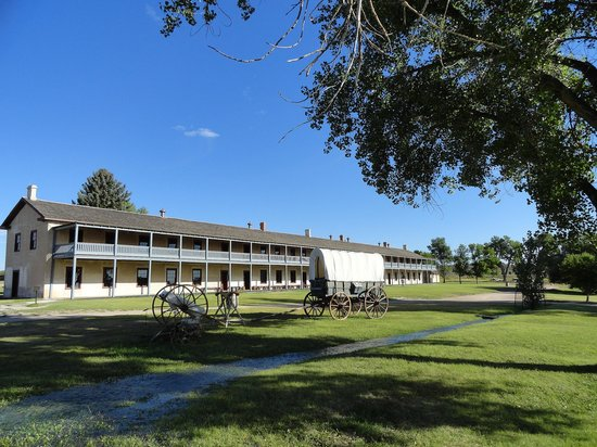 Fort Laramie National Historic Site: The cavalry barracks (1874)