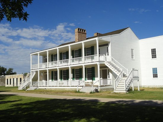 "Fort Laramie National Historic Site: ""Old Bedlam"" (1849)"