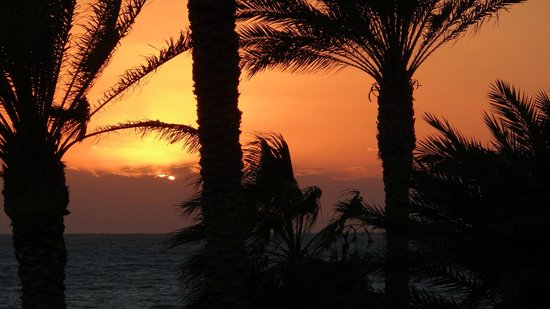 Constantinou Bros Asimina Suites Hotel: A breathtaking sunset