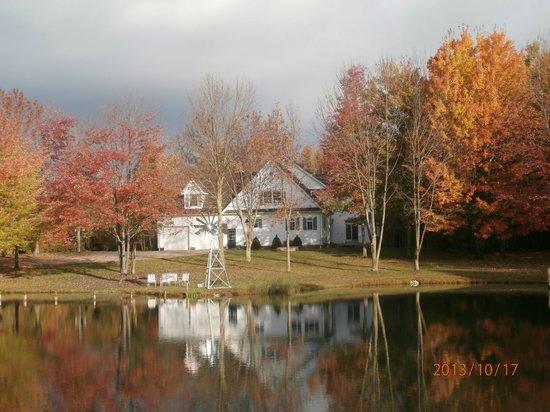 Bear Creek Farm Bed and Breakfast: Beautiful all year!