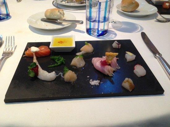 San Martino Restaurant: Il crudo