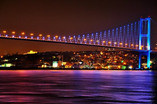 Istanbul, Turkey: Bosphorus Bridge