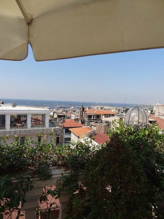 Hotel Niles Istanbul : rooftop
