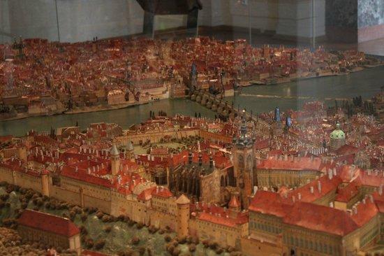 Prague City Museum: Modellino Praga 3
