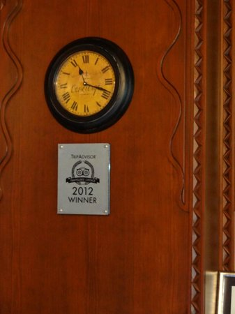 Hotel Niles Istanbul : Award