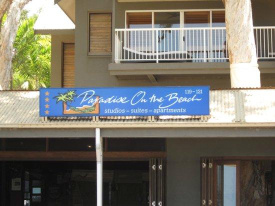 Paradise On The Beach Resort Palm Cove: A l'arrivée !