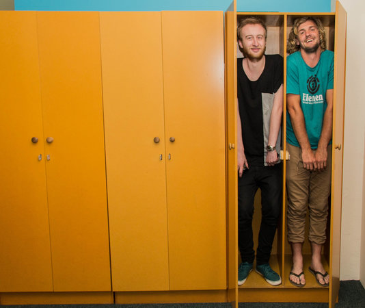 Rock Solid Backpackers : Free lockable wardrobes in rooms