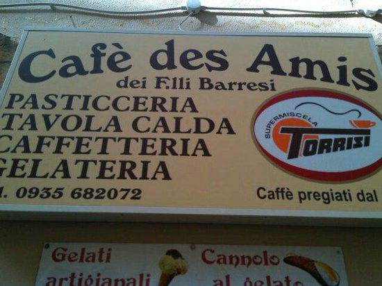 cafe des amis : Cade des amis, Piazza Armerina