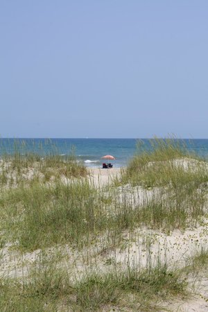 Ocracoke Island Visitor Center : Outer Banks beach