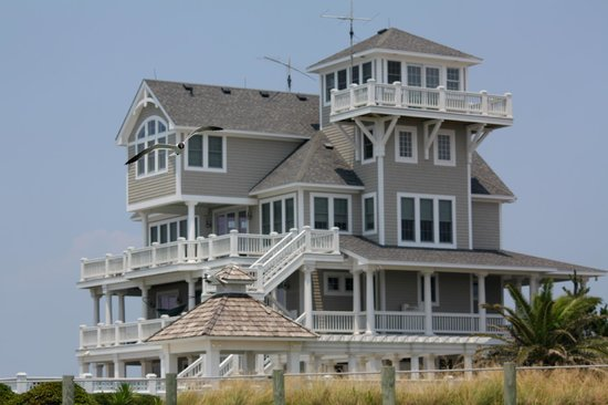 Ocracoke Island Visitor Center : Beach house