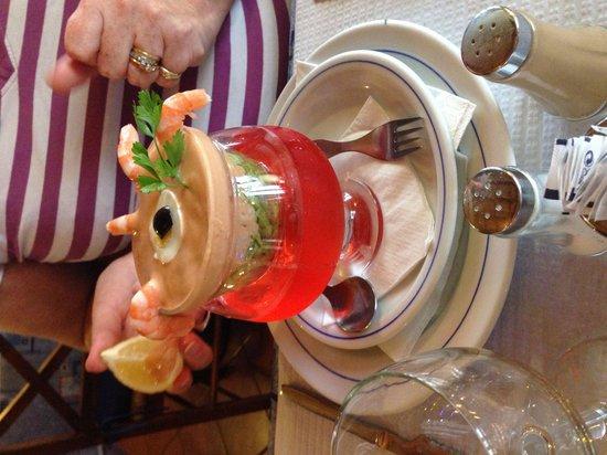 Restaurante Atlantico: Prawns!
