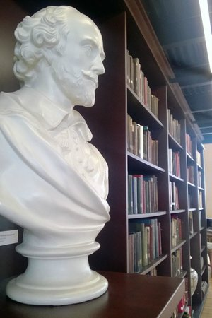 The Mercantile Library: Bust of Shakespeare