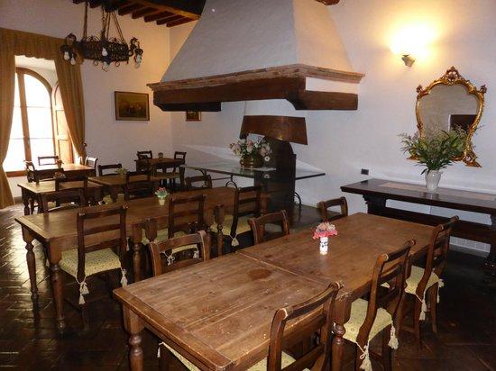 Palazzo Squarcialupi : Breakfast room