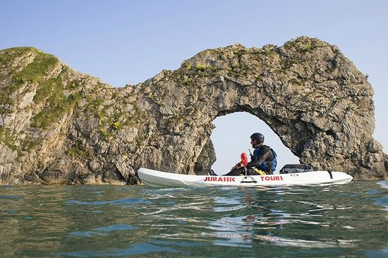 West Lulworth, UK: Durdle Door Kayaking