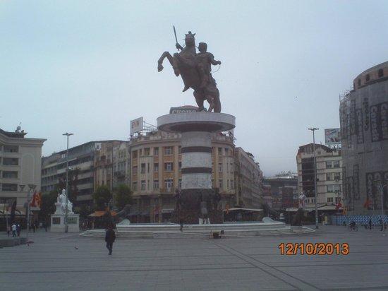 Macedonia Square: Skopje Oct2013