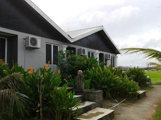 Pondok Muara Chalet: chalet outlook