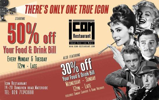 Icon Restaurant & Winebar: promo