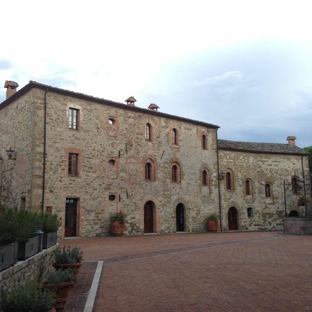 Castel Monastero: The Blue (B) Building