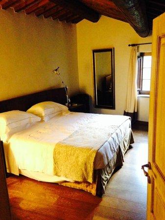 Castel Monastero: Junior Suite (?) Room B21 Bedroom