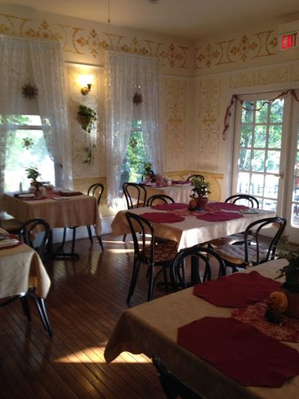 New Hope's 1870 Wedgwood Bed and Breakfast Inn: Breakfast Room