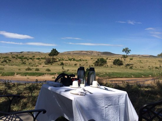 Sand River Masai Mara: View from Breakfast