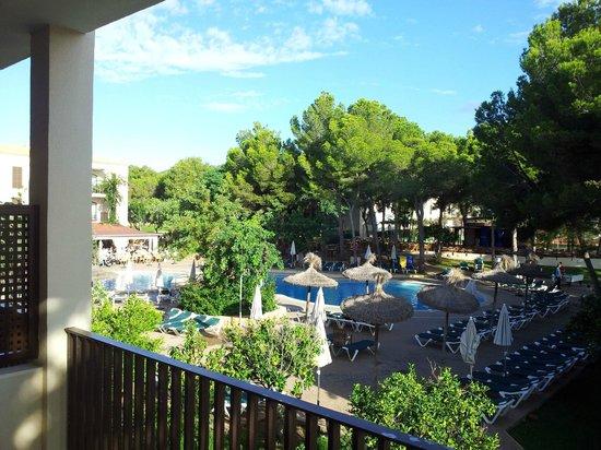 Protur Floriana Resort: Blick aus App. 1117