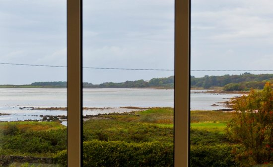 Rusheen Bay House Bed and Breakfast: The view from the room